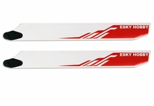 RED Wooden blade(BEVEL) 275*32*4.5mm EK4-0004R