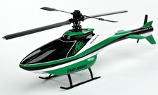 Esky's Scale Cabin Size 450 fabricated with glass fiber Helicopter Fuselage Canopy EK4-0065G_F3C-ScaleCabin-Green