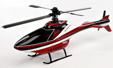 Esky's Scale Cabin fabricated with glass fiber Helicopter Fuselage Canopy Red (No Helicopter)