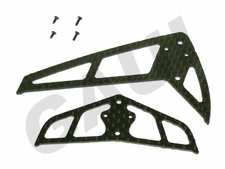 CF Fin & Tail(B Type)-Black GauiParts-203602