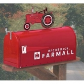 Farmall Rural Mail Box