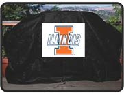 University of Illinois Gas Grill Cover