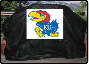 University of Kansas Gas Grill Cover