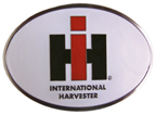 IH Oval Belt Buckle