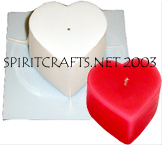 HEART / VALENTINES DAY CANDLE MOLDS
