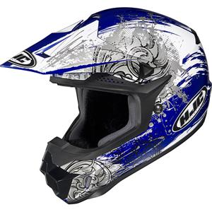 <H2>CLOSEOUT SALE</H2> HJC CL-X6 Kozmos MX Helmet - FREE Delivery - FREE MX Gloves - MOTOBUYS.com