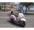 BMS Heritage 50cc Scooter - Moped - Larger Body - Calif Legal - / FREE Leather Jacket, FREE Lock, FREE Gear & FREE Helmet with Purchase_$420-Value all FREE! +FREE SHIPPING!