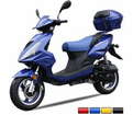 CAYMEN 50cc  Bigger Body SCOOTER! / FREE Leather Jacket, FREE Lock, FREE Gear & FREE Helmet with Purchase_$420-Value all FREE! +FREE SHIPPING!