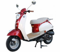 BERMUDA 50cc EURO Style SCOOTER! FREE SHIPPING! LOWEST PRICE GUARANTEED! / FREE Leather Jacket, FREE Lock, FREE Gear & FREE Helmet with Purchase_$420-Value all FREE! +FREE SHIPPING!