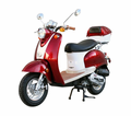 TUSCANY 50CC MOPED SCOOTER! / FREE Leather Jacket, FREE Lock, FREE Gear & FREE Helmet with Purchase_$420-Value all FREE! +FREE SHIPPING!