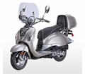BMS Palazzo 150cc Scooter / Moped - Fast FREE Shipping -- Calif Approved!  -/ FREE Leather Jacket, FREE Chain Lock, FREE Leather Gloves, FREE Biker Wallet & FREE HELMET with Purchase_$420-Value all FREE! +FREE SHIPPING!