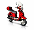 BMS Romans New-model  150cc Scooter / Moped. FREE Delivery!  Calif Approved! Lowest Price! / FREE Leather Jacket, FREE Lock, FREE Gear & FREE Helmet with Purchase_$420-Value all FREE! +FREE SHIPPING!