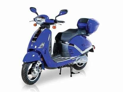 BMS V9 EVO Retro Style 150cc Scooter. / FREE Leather Jacket, FREE Lock, FREE Gear & FREE Helmet with Purchase_$420-Value all FREE! +FREE SHIPPING!