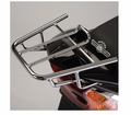 GENUINE BUDDY BLUR ACCESSORIES - CHROME REAR RACK - Swd- Lowest Price Guaranteed!