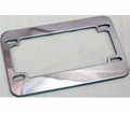 Covers & Accessories - License Plate Frame Chrome - Swd from Motobuys.com