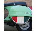 Spare Tire Covers - Italian Flag 10� from Motobuys.com