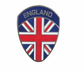 Badges - England Flag Shield from Motobuys.com