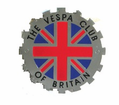 Badges - Vespa Club of Britain from Motobuys.com