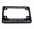 License Plates - Scooterworks License Plate Frame from Motobuys.com