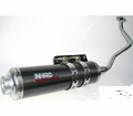 Exhausts Nhrc Performance Systems - Carbon Fiber Performance B+W150 - Swd - from Motobuys.com