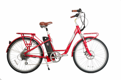eMOTO Malibu - Electric Bike, with Samsung� Lithium Ion 37-Volt Battery, Power-Assist - FREE SHIPPING - Motobuys.Com