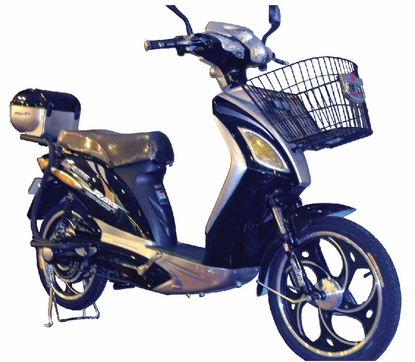 REVOLVE Transporter II 350-Watt - Electric Moped / Bicycle - Free Shipping - Motobuys.Com