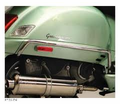 Vespa Gt/Gts Feco - Gt Cowl Protection Prima Chrome Rear Cowl Protector Gt/Gts - Swd - Lowest Price Guaranteed! Free Shipping !