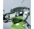 Genuine Buddy Accessories - Chrome Headset Cover - Swd - from Motobuys.com