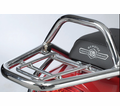 GENUINE BUDDY ACCESSORIES - CHROME REAR RACK - Swd  - Lowest Price Guaranteed!