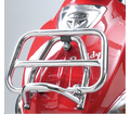 Genuine Buddy Accessories - Chrome Folding Front Rack from Motobuys.com