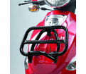 Genuine Buddy Blur Accessories - Black Folding Front Rack - Swd - from Motobuys.com