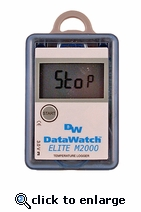 Registrador de Temperatura Digital DataWatch Elite M2000 Reutilizable (Chismógrafo)