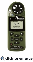 Estación Meteorológica Kestrel Pocket Weather Tracker 4500 NV (Visón Nocturna)