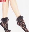 Lace Ankle Socks With Ruffle LA 3030