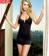 Womens Slinky Mini Halter Dress LA 8464