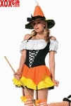 Kandy Korn Witch Costume LA 83186