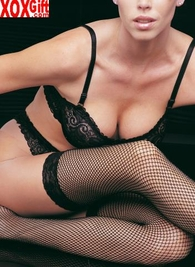 Plus Size Fishnet Stockings With Lace Tops LA 9027Q