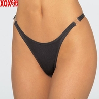 Slim cut thong With side clips EM 2331