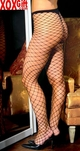 Womens Diamond Net Pantyhose EM 1722