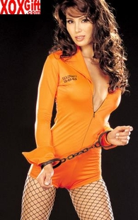Sexy Prison Womens Inmate Costume 7300