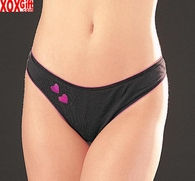 SALE!!! Low Rise Panty With Sparkle Valentine Hearts! 159S