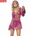 Womens Hippie Girl Costume LA 83048