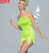 Tinkerbell Sprite Adult Costume With Wand & Wings LA 8002