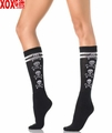 Womens Skull Knee Highs LA 5581