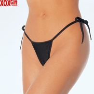 Lycra Thong Panty With Tie On The Side LA 2645