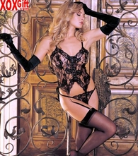 Risque Sexy Lingerie Alluring Love Lace 3 Pc Bustier Set R 6669