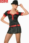 Lady Gangster Dress Costume LA 83183