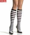 Striped Knee Highs LA 5577