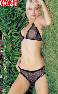 2 Pc Black With Pink Polka Dot Mesh Bra Top & Boyshorts LA 81064