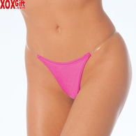 Lycra Thong With Clear Side Straps LA 2691
